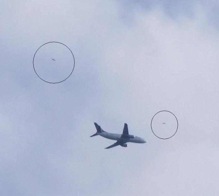 Ufo dan Pesawat